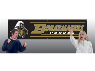 Purdue Boilermakers 8-FT Banner
