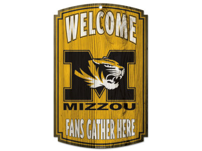 Missouri Tigers 11x17 Wood Sign