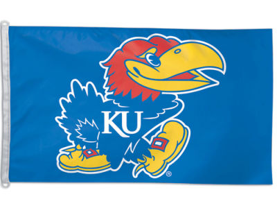 Kansas Jayhawks 3x5ft Flag
