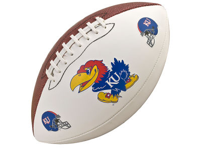 Kansas Jayhawks NCAA Autograph Football