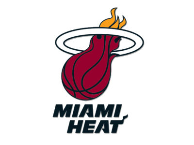 Miami Heat Die Cut Color Decal 8in X 8in