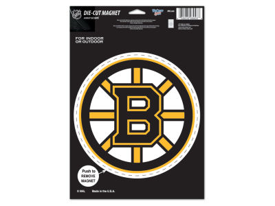 Boston Bruins Die Cut Magnet