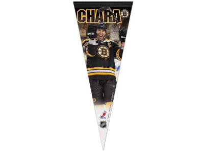 Boston Bruins Zdeno Chára 12x30 Premium Player Pennant