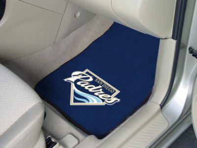 San Diego Padres Car Mats Set/2
