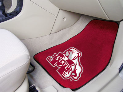 Mississippi State Bulldogs Car Mats Set/2