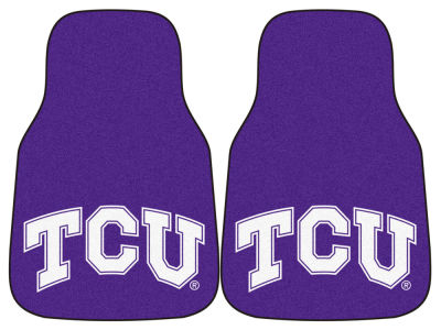 Texas Christian Horned Frogs Car Mats Set/2
