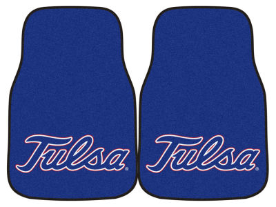 Tulsa Golden Hurricane Car Mats Set/2