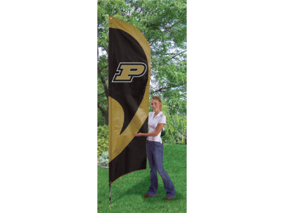 Purdue Boilermakers Tall Team Flag