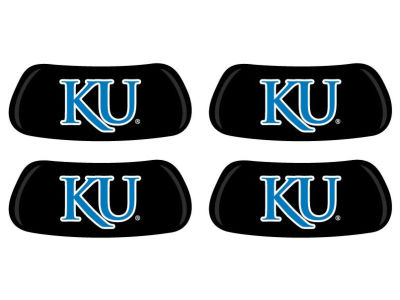 Kansas Jayhawks 2 Pair Eyeblack Sticker
