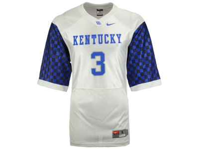 Kentucky Wildcats #14 Nike NCAA Replica Football Game Jersey