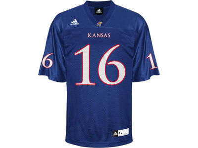 Kansas Jayhawks adidas NCAA Youth Football Jersey