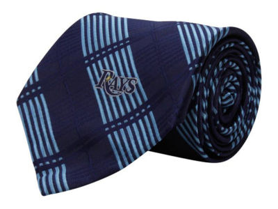 Tampa Bay Rays Necktie Woven Poly Plaid
