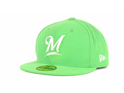 Milwaukee Brewers New Era MLB C-Dub 59FIFTY Cap