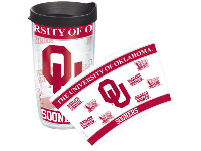Oklahoma Sooners 16oz Wrap Tumbler With Lid