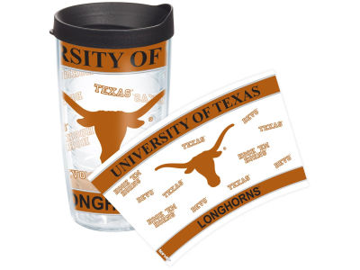 Texas Longhorns 16oz Wrap Tumbler With Lid