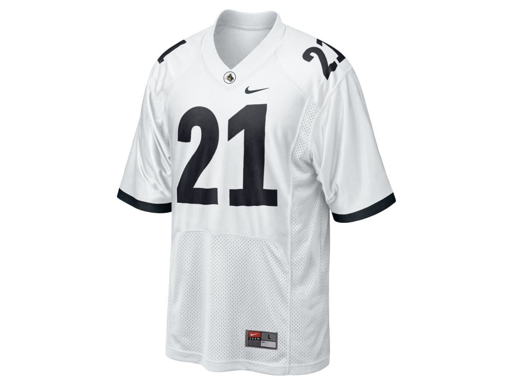 b97e970a3 Purdue Boilermakers  21 Nike NCAA Replica Football Jersey