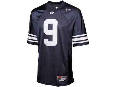 Brigham Young Cougars #9 Nike NCAA Twill Football Jersey