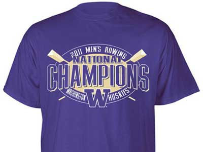 Washington Huskies Blue 84 NCAA National Champions T-Shirt