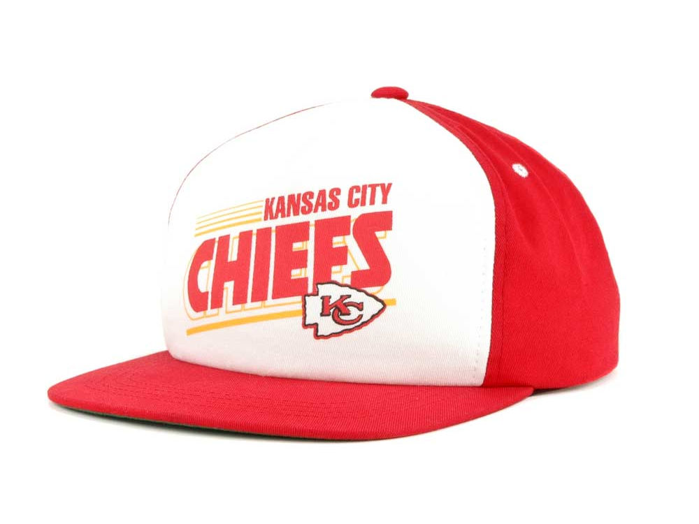 Kansas City Chiefs Reebok NFL Snaps Snapback Cap  458f21213da