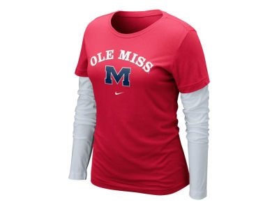 Ole Miss Rebels Nike NCAA Womens Cross Campus Long Sleeve Layer T-Shirt