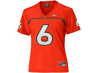 Miami Hurricanes Nike NCAA Womens Football Replica Jersey
