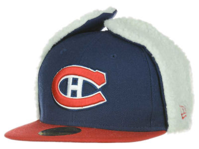 Montreal Canadiens New Era NHL Dogear 59FIFTY Cap