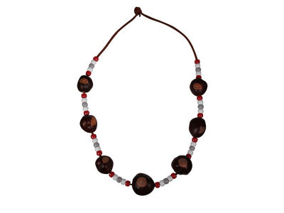 Ohio State Buckeyes Buckeye Necklace