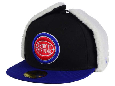 Detroit Pistons New Era NBA Hardwood Classics Dogear 2011 59FIFTY Cap