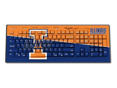 Illinois Fighting Illini Wireless Keyboard