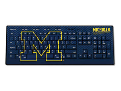 Michigan Wolverines Wireless Keyboard