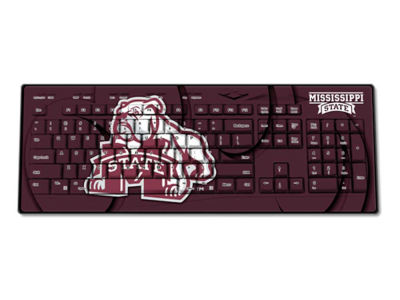 Mississippi State Bulldogs Wireless Keyboard