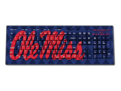 Ole Miss Rebels Wireless Keyboard