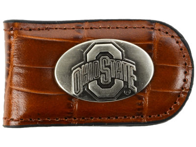 Ohio State Buckeyes Leather Belt