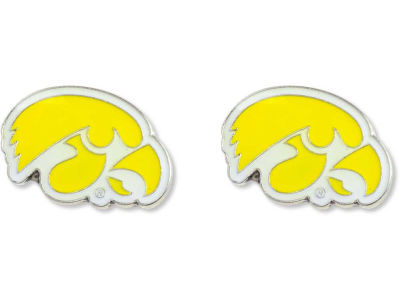 Iowa Hawkeyes Logo Post Earrings