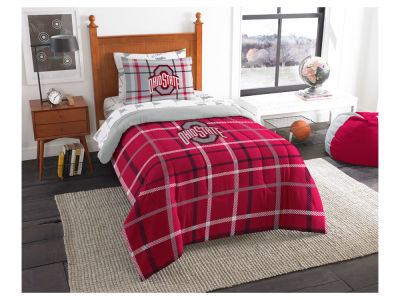 Ohio State Buckeyes Twin Soft & Cozy Set