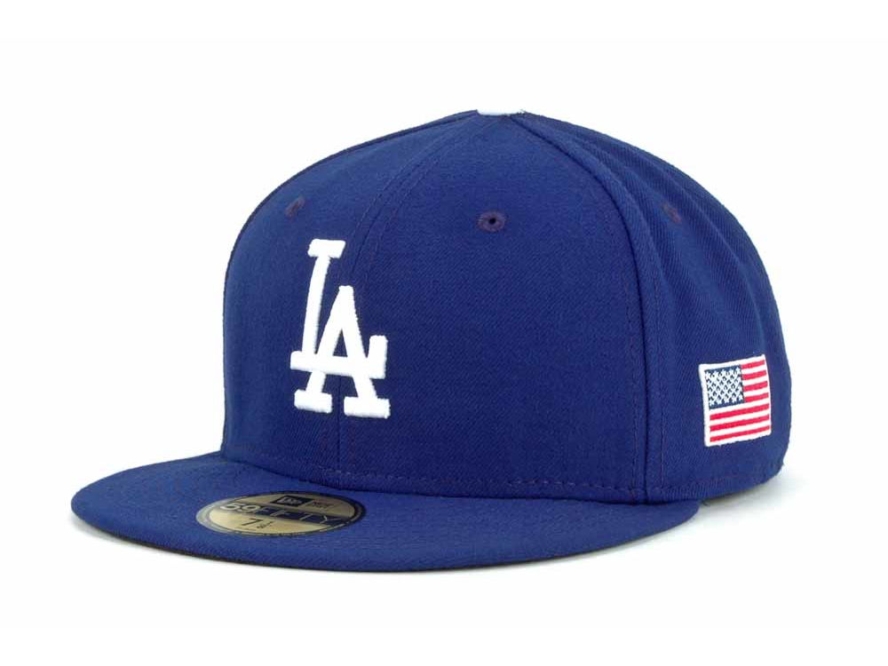 new concept 70adc 635b0 ... royalblue hats fitted best price los angeles dodgers new era mlb ac on  field 9 11 patch 59fifty cap ...
