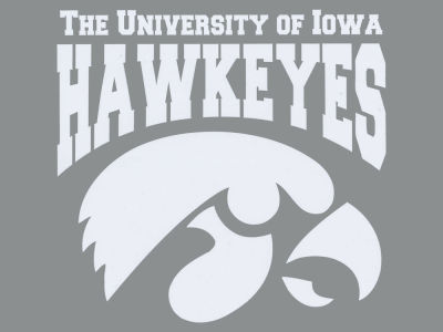 Iowa Hawkeyes Die Cut Color Decal 8in X 8in