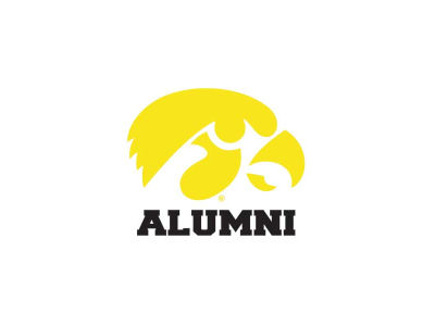 Iowa Hawkeyes 3x4 Ultra Decal