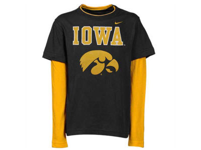 Iowa Hawkeyes NCAA Youth Double Layer T-Shirt