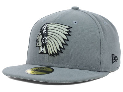 Boston Braves New Era MLB Gray BW 59FIFTY Cap