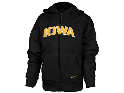 Iowa Hawkeyes NCAA Youth Full-Zip Hoodie