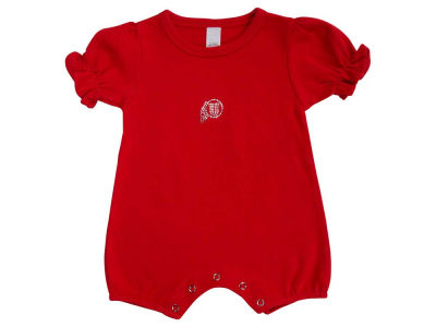 Utah Utes NCAA Infant Girls Rhinestone Romper