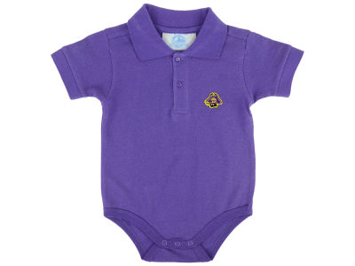 East Carolina Pirates NCAA Infant Polo Romper