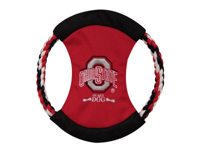 Ohio State Buckeyes Nylon Flying Disk Toy