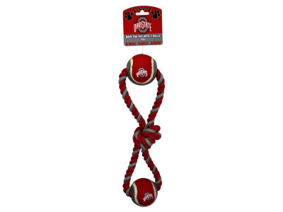 Ohio State Buckeyes Rope and Balls Tug