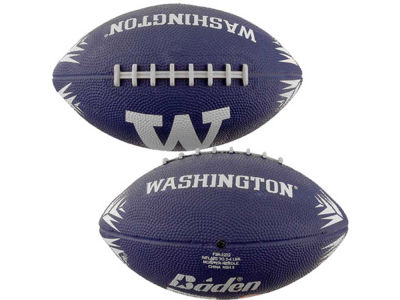 Washington Huskies NCAA Rubber Mini Football