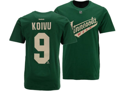 Minnesota Wild Miko Koivu Reebok NHL Men's Player T-Shirt
