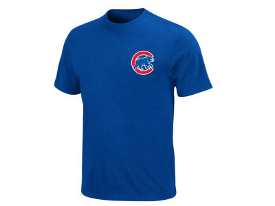 Chicago Cubs Majestic MLB Men's Official Wordmark T-Shirt