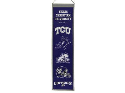Texas Christian Horned Frogs Heritage Banner