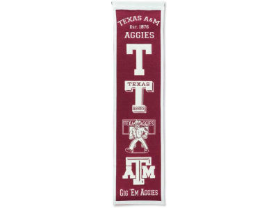 Texas A&M Aggies Heritage Banner
